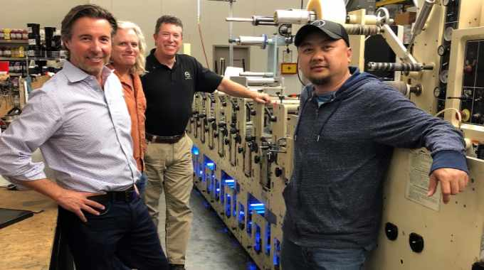 Label Products invests in AMS Spectral LED curing