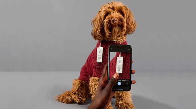 Avery Dennison has partnered with lifestyle brand UpWest, and ReCircled, an apparel and footwear recycling and reuse-focused organization, to demonstrate how its Digital Care Label technology can be used in an upcycling context and provide a brand experience