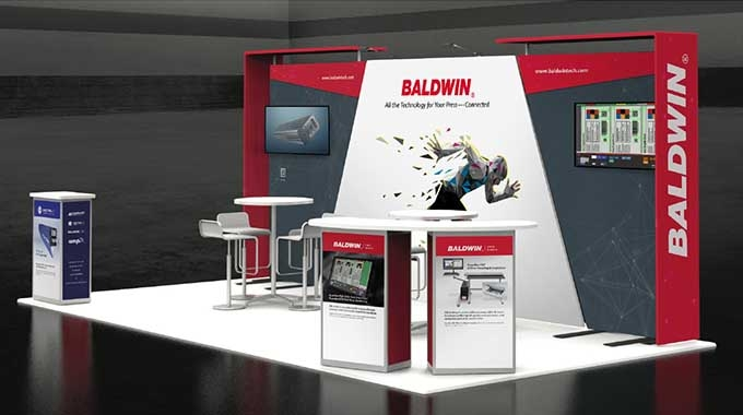 Baldwin to showcase data-connected UV, LED, corona, color and inspection technology at Label Congress 2021