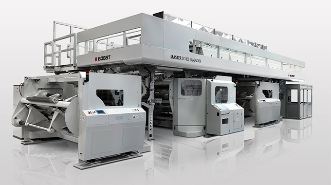Amcor has installed Bobst Master D 1000 S multi-technology laminator at its Sustainability Centre of Excellence in Ghent, Belgium