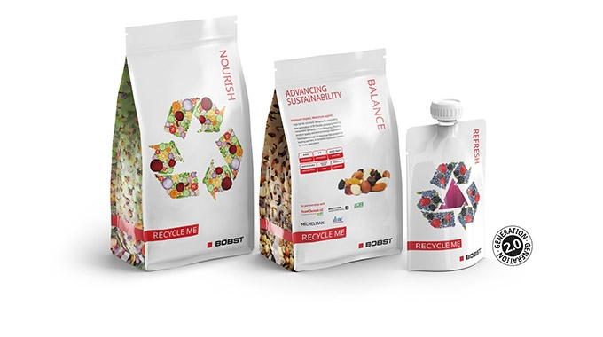 Bobst and its partners have released Generation 2.0 samples of high barrier flexible packaging