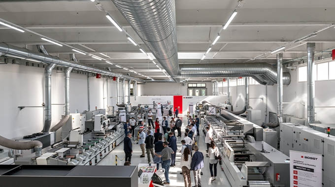 Bobst has now fully equipped its Competence Center at Bobst Firenze in Italy where the portfolio of flexo, UV inkjet and all-in-one label presses can be seen
