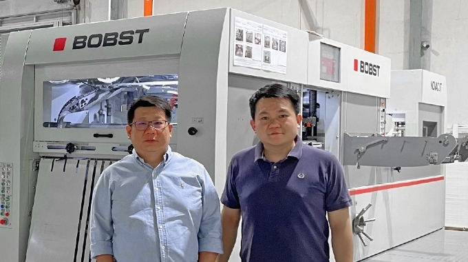 Tung Lim Press sees increase in production with BOBST flatbed die-cutter