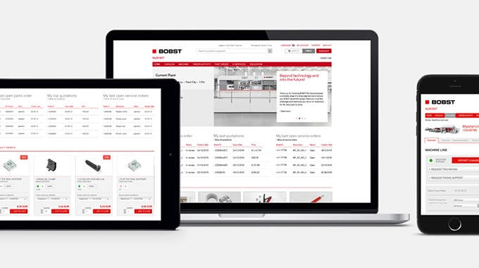 A new web portal is offering Bobst customers in the UK and Ireland access to fast, simple and convenient parts and service online ordering