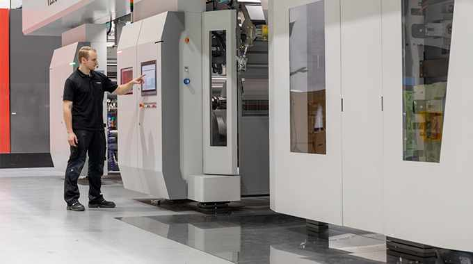 Bobst has launched Vision CI flexo press designed to deliver efficient performance