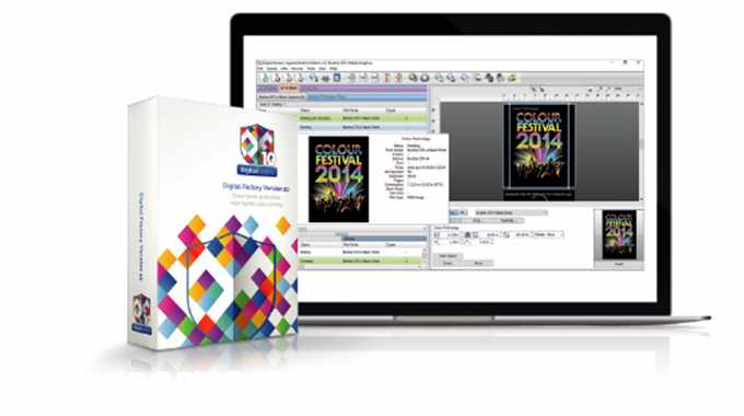 Digital Factory RIP is the newest version of the workflow software showcased at Labelexpo