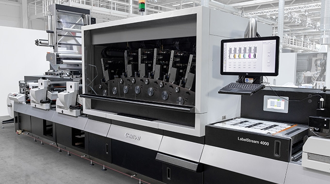 Canon Production Printing has signed an agreement with Rodden Graphics to promote and distribute its LabelStream 4000 series UV inkjet press from the beginning of May 2021