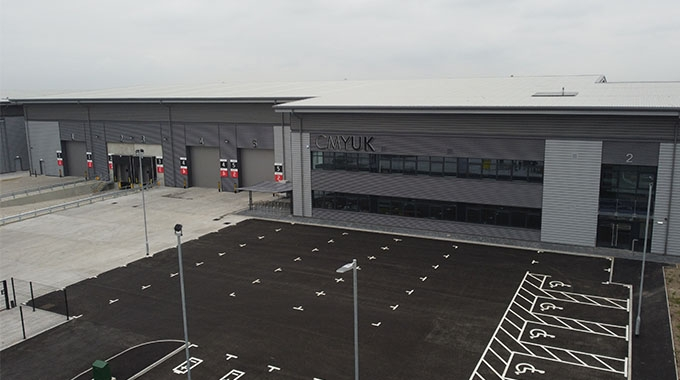 CMYUK has opened a major national logistics distribution hub situated at Bloxwich, Walsall, UK