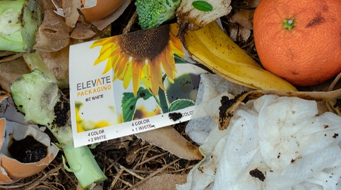 Elevate Packaging announces first BPI certified compostable adhesive label