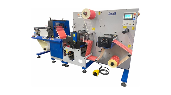 AM Labels invests in Daco label press to increase its capabilities with the new Daco FLX350 flexo label press