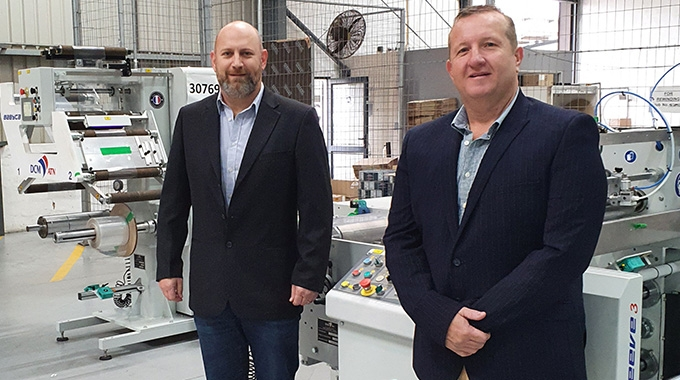 Durban's Advanced Labels installed DCM's seaming and inspection-rewinding technology to meet burgeoning demand for shrink sleeves in South Africa