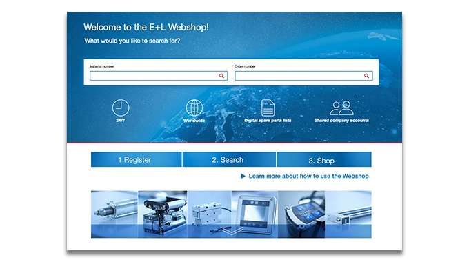 Erhardt+Leimer launches online store with spare parts and components