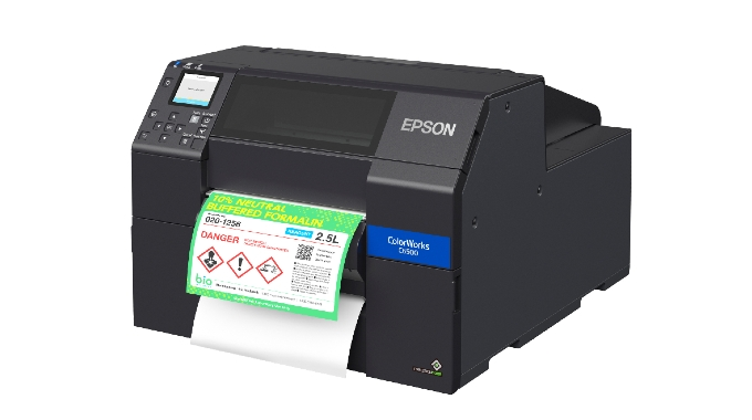 Epson introduces matte black ink for ColorWorks C6000-Series