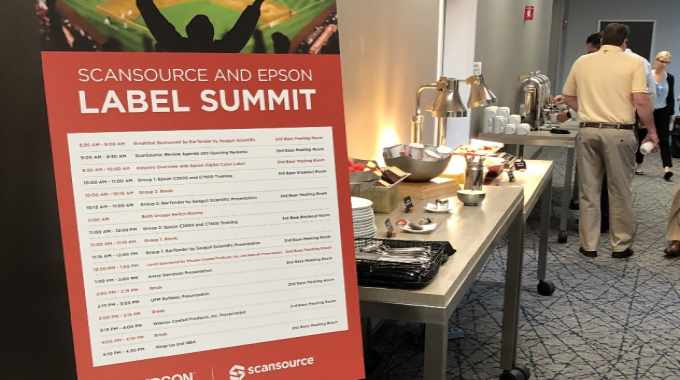 Epson and ScanSource host label summit