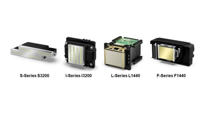 Epson's OEM printheads are available in four series