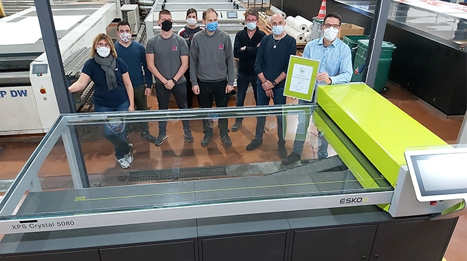 Medialliance Graphic Bourgoin Jallieu has become the first to achieve best in class platemaking certification under a new Esko XPS Crystal program