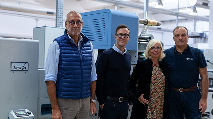 Italian converter Etic.a invests in Lombardi 430-band finishing machine