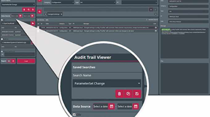 With the EyeC Audit Trail Viewer, pharmaceutical companies can review audit trail data and track critical events easily