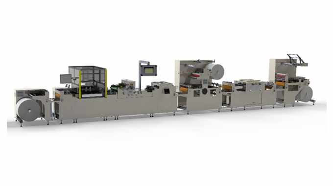Fix-a-Form's new AF500 label finishing machine designed for multi-page label production