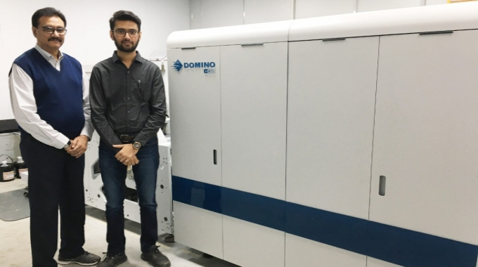 Ahmedabad-based label printer, Unick Fix-a-Form & Printers, has installed India's first Domino N610i digital label printing unit.
