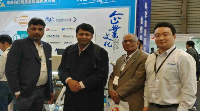 NBG Printographic representing Beijing Daheng Image Vision in India has installed the first 100 percent label inspection system and slitter rewinder at Kumar Labels based in Noida.