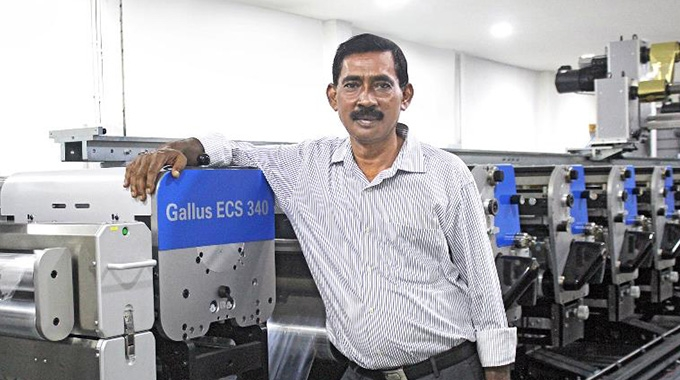 Libako Packaging has boosted its production efficiencies after installing a Gallus ECS 340