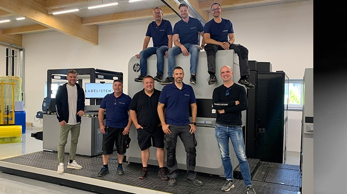 Labelisten has invested in an HP Indigo 25K Digital Pouch Factory