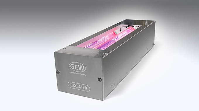 GEW has launched its EXC Excimer UV lamp system