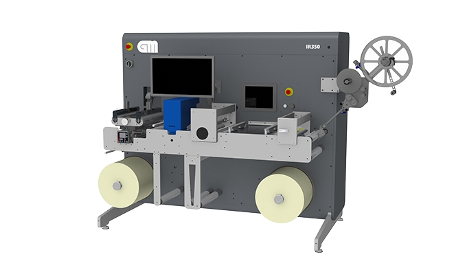 GM introduces IR350 multifunctional inspection rewinder, a fully retrofittable product complements GM's 350mm product line