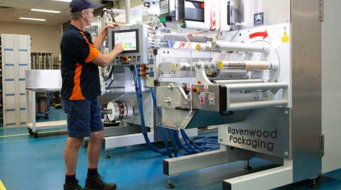 Australian printer invests in linerless production to drive adoption in the Australian protein market