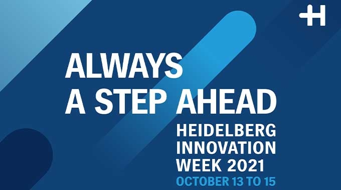 Heidelberg is hosting virtual Innovation Week themed 'Always a step ahead' taking place at the company's Wiesloch-Walldorf site from October 13 to 15, 2021