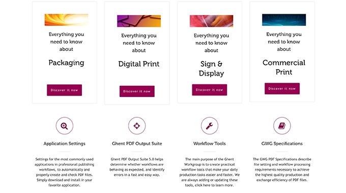 GWG compiles knowledge base for print professionals on dedicated website