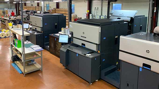 Imprimerie de L'Éperon is the first label converter in France to run two HP Indigo 8000 presses