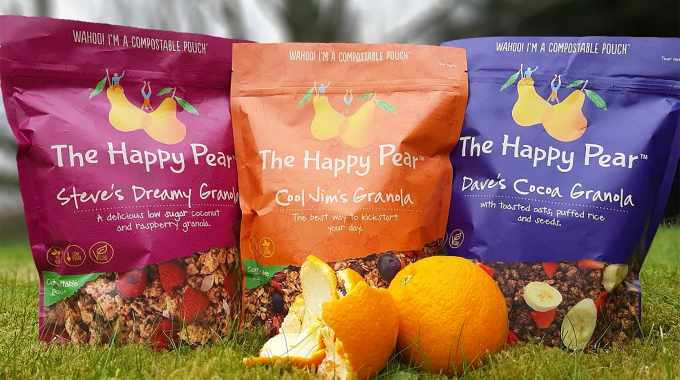 Sustainable packaging produced by Foxpak of Ireland