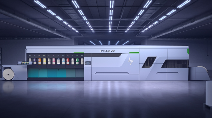 HP Indigo unveils high speed label press
