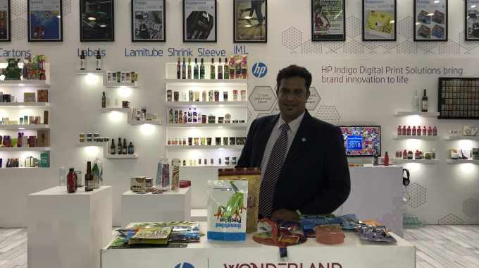 A. Appadurai, country manager, Indigo and Pagewide Web Press, Graphics Solutions Business, HP India
