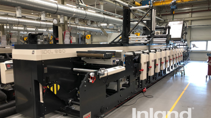 Inland Packaging installs new MPS press