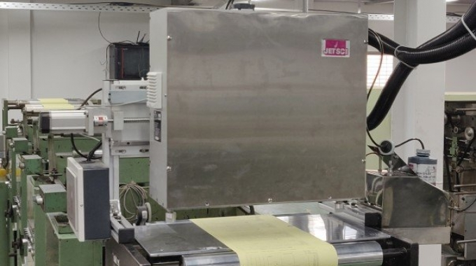 Monotech Systems has installed the third Jetsci inkjet system in Bangladesh.