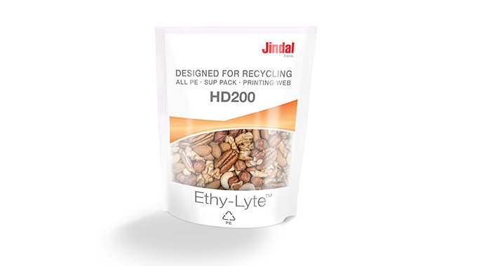 Jindal Films has begun the European production of Ethy-Lyte, its latest BOPE films designed to offer fully recyclable mono-PE packaging alternatives