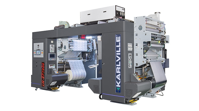 Karlville has launched Combi Pack Ready Laminator for HP Indigo combining both thermal and solventless adhesive lamination technologies
