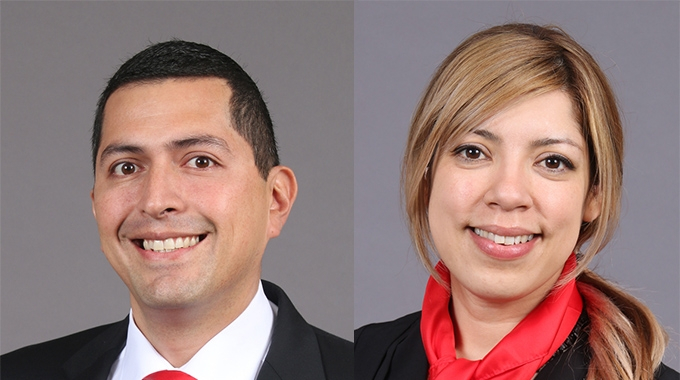 Kocher + Beck USA has promoted two key employees, Amin Silva Yedra and Jackie Barbour
