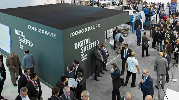 Koenig & Bauer has reaffirmed its commitment to participate in the next drupa