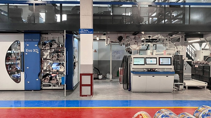 Multisac has invested in a new Koenig & Bauer's Cl flexo press Evo XD 8 to increase its production capacity