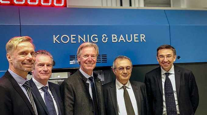 Koenig & Bauer and Duran unite to form Koenig & Bauer Duran