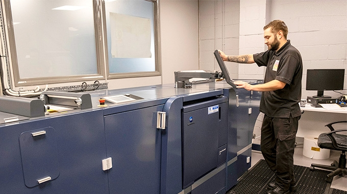 Direct Labels UK has installed a Konica Minolta AccurioLabel 230 toner press to add digital capabilities to its production plant