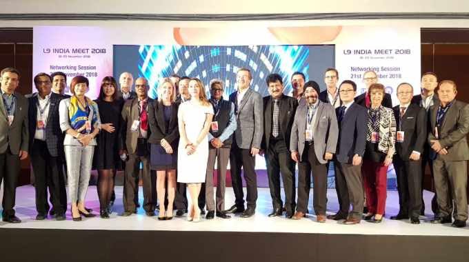 The L9 association members gathered in Greater Noida in the lead-up to Labelexpo India 2018