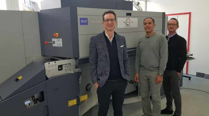 One year on from its foundation, Switzerland-based converter Label Center has reported success with its Durst Tau 330 E single-pass inkjet press