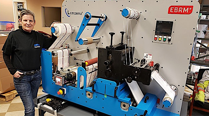 Canadian ClearTech Industries has invested in a Lemorau EBRM+ semi-rotary system to expand the finishing capabilities of its label department in British Columbia
