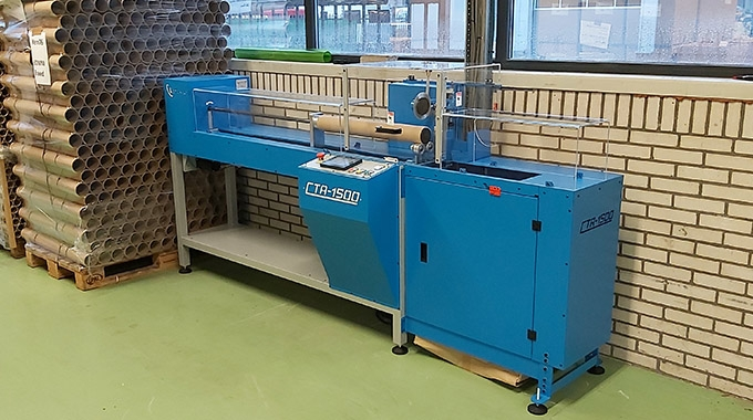 Weber Marking has installed Lemorau CTA1500 automatic core cutter to increase its production capacity
