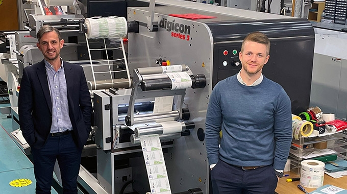 Limpet Labels has invested in an A B Graphic International's Digicon Series 3 modular finishing system